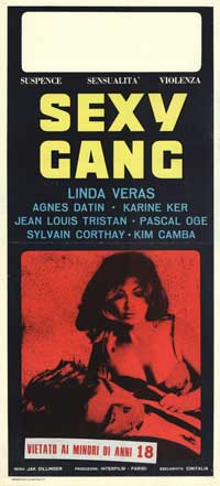 Sexy Gang - 13 x 28 Movie Poster - Italian Style A