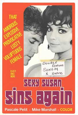 Sexy Susan Sins Again - 11 x 17 Movie Poster - Style A