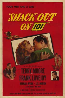 Shack Out on 101 - 11 x 17 Movie Poster - Style A