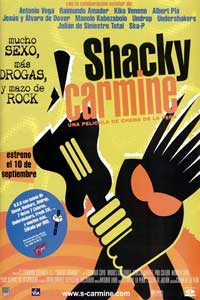 Shacky Carmine - 11 x 17 Movie Poster - Spanish Style A