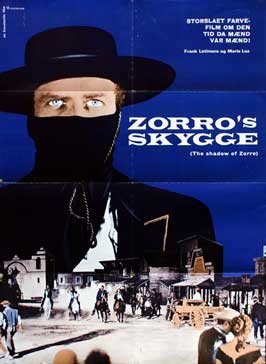Shades of Zorro - 11 x 17 Movie Poster - Danish Style A