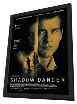 Shadow Dancer - 11 x 17 Movie Poster - UK Style A - in Deluxe Wood Frame
