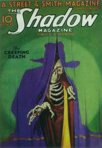 Shadow Magazine, The (Pulp) - 11 x 17 Pulp Poster - Style B