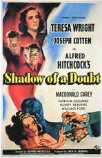 Shadow of a Doubt - 11 x 17 Movie Poster - Style B