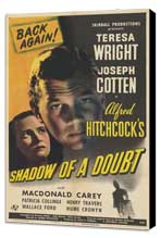 Shadow of a Doubt - 11 x 17 Movie Poster - Style D - Museum Wrapped Canvas