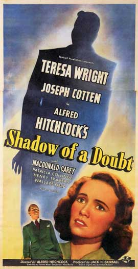 Shadow of a Doubt - 11 x 17 Movie Poster - Style A