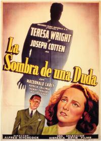 Shadow of a Doubt - 11 x 17 Movie Poster - Spanish Style A
