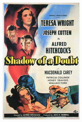 Shadow of a Doubt - 27 x 40 Movie Poster - Style B