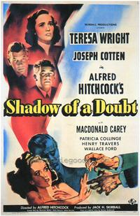 Shadow of a Doubt - 43 x 62 Movie Poster - Bus Shelter Style A