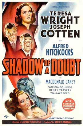 Shadow of a Doubt - 11 x 17 Poster Australian Style B