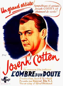 Shadow of a Doubt - 11 x 17 Movie Poster - French Style G