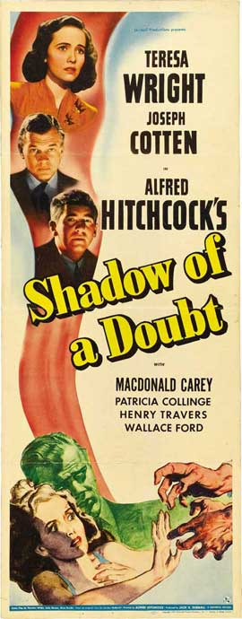 Shadow of a Doubt - 14 x 36 Movie Poster - Insert Style A
