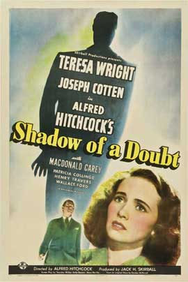 Shadow of a Doubt - 27 x 40 Movie Poster - Style C