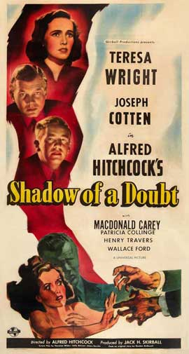 Shadow of a Doubt - 20 x 40 Movie Poster - Style A