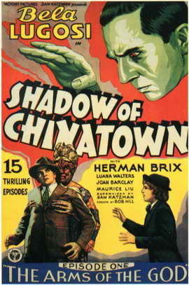 Shadow of Chinatown - 11 x 17 Movie Poster - Style B
