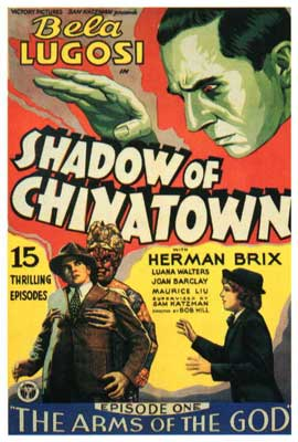 Shadow of Chinatown - 27 x 40 Movie Poster - Style B