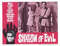 Shadow of Evil - 11 x 14 Movie Poster - Style E