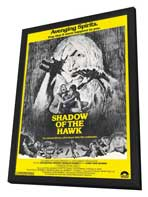 Shadow of the Hawk - 11 x 17 Movie Poster - Style A - in Deluxe Wood Frame