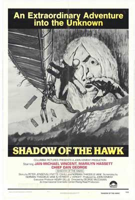 Shadow of the Hawk - 11 x 17 Movie Poster - Style B