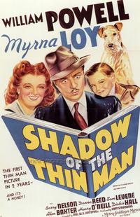 Shadow of the Thin Man - 43 x 62 Movie Poster - Bus Shelter Style A