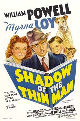 Shadow of the Thin Man - 11 x 17 Movie Poster - Style A