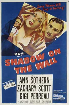 Shadow on the Wall - 11 x 17 Movie Poster - Style A