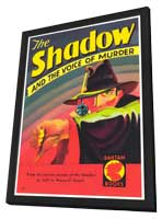 Shadow, The (Pulp) - 11 x 17 Retro Book Cover Poster - in Deluxe Wood Frame