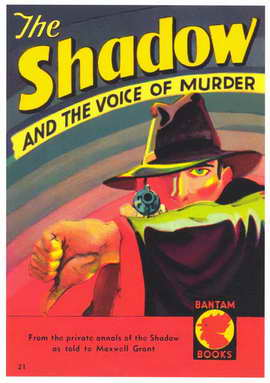 Shadow, The (Pulp) - 11 x 17 Retro Book Cover Poster