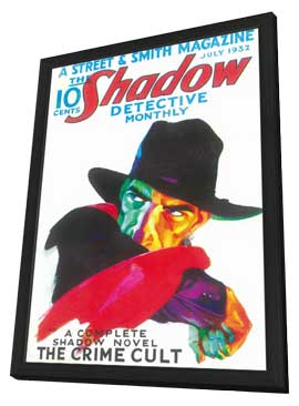 Shadow, The (Pulp) - 11 x 17 Pulp Poster - Style A - in Deluxe Wood Frame