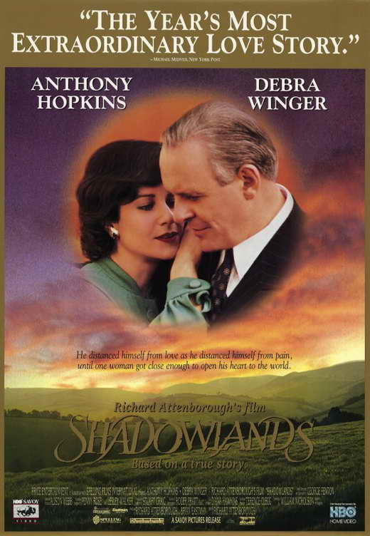 All Posters for Shadowlands at Movie Poster Shop