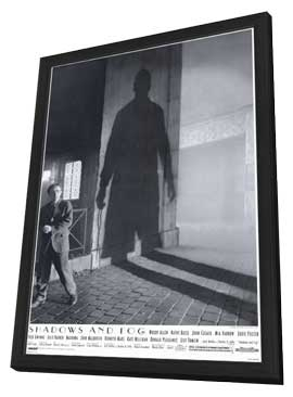 Shadows and Fog - 11 x 17 Movie Poster - Style A - in Deluxe Wood Frame