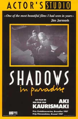Shadows in Paradise - 27 x 40 Movie Poster - Belgian Style A