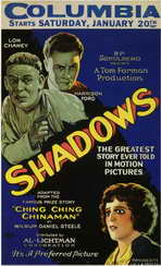 Shadows - 11 x 17 Movie Poster - Style B
