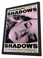 Shadows - 27 x 40 Movie Poster - Style A - in Deluxe Wood Frame