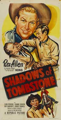 Shadows of Tombstone - 11 x 17 Movie Poster - Style A