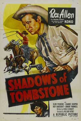 Shadows of Tombstone - 11 x 17 Movie Poster - Style B