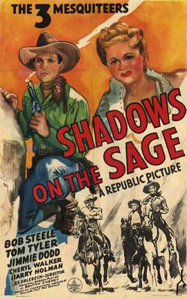 Shadows on the Sage - 27 x 40 Movie Poster - Style A