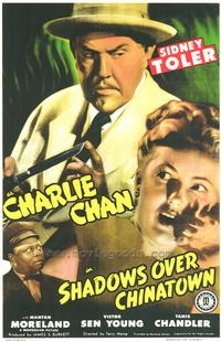 Shadows Over Chinatown - 43 x 62 Movie Poster - Bus Shelter Style A