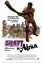 Shaft in Africa - 27 x 40 Movie Poster - Style A