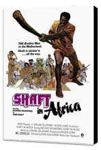 Shaft in Africa - 27 x 40 Movie Poster - Style A - Museum Wrapped Canvas