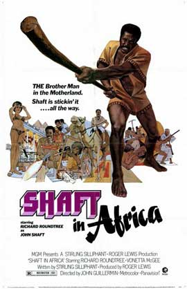 Shaft in Africa - 11 x 17 Movie Poster - Style A