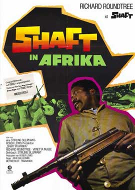 Shaft in Africa - 11 x 17 Movie Poster - German Style A