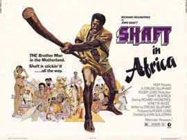 Shaft in Africa - 11 x 14 Movie Poster - Style A