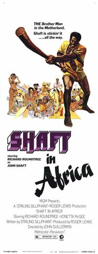 Shaft in Africa - 14 x 36 Movie Poster - Insert Style A
