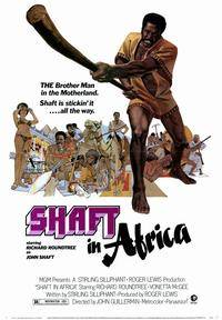 Shaft in Africa - 43 x 62 Movie Poster - Bus Shelter Style A
