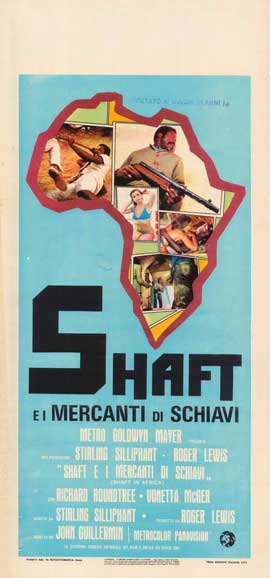 Shaft in Africa - 11 x 17 Movie Poster - Italian Style B