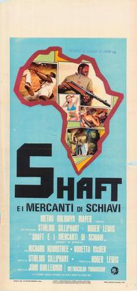 Shaft in Africa - 39 x 55 Movie Poster - Italian Style A