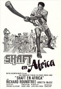 Shaft in Africa - 11 x 17 Movie Poster - Spanish Style A