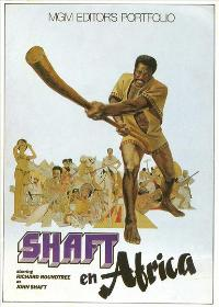 Shaft in Africa - 11 x 17 Movie Poster - Spanish Style B