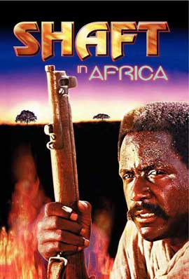 Shaft in Africa - 27 x 40 Movie Poster - Style B
